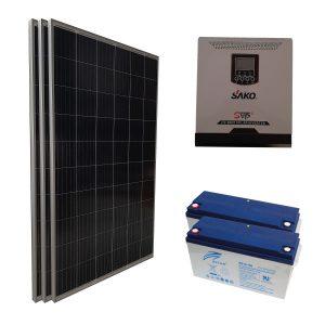 Yazlık Kullanım Paketi - 1 kW Güneş Enerji Sistemi