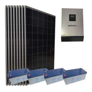 Ev İçin Güneş Enerjisi - 2,6 kW Ev Kullanımı Paketi