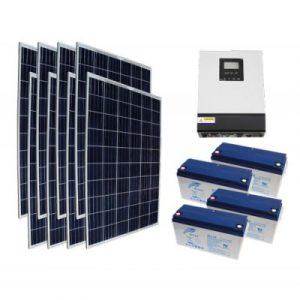 Off Grid 2 kW Ev Kullanımı Paketi - Ev İçin Güneş Enerjisi