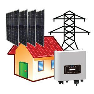3 kW Çatı Üstü GES Paket Sistem - Öztüketim Modeli