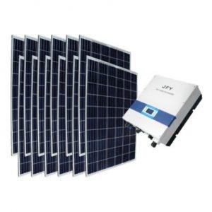 On Grid (Şebeke Bağlantılı) 3 kW Çatı Üstü GES Paket Sistem