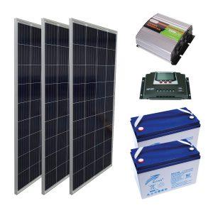 Mini Solar Sistem - 0,5 kW Kuruluma Hazır Paket