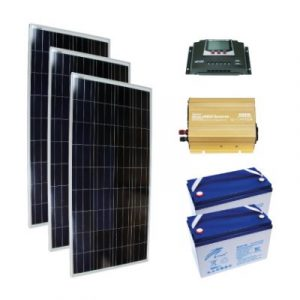 Mini Solar Sistem - Off Grid 0,5 kW Kuruluma Hazır Paket