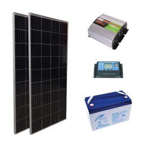 Tekne ve Karavan Güneş Paneli Paketi - PWM