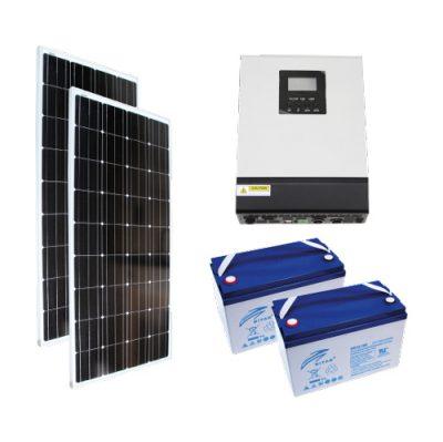tekne ve karavan güneş paneli paketi