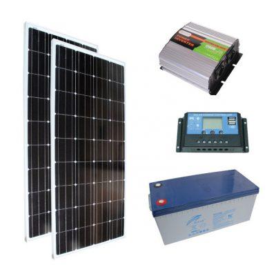 karavan güneş paneli