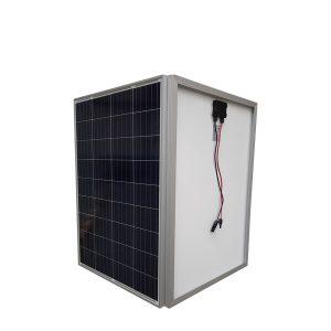 100 W Güneş Paneli - Polikristal - 36 Hücre - 5 BusBar