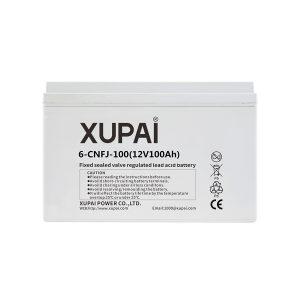 XUPAI 6-CNFJ-100 - 12V 100Ah Jel Akü - Derin Döngü Jel Akü