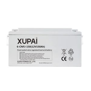 XUPAI 6-CNFJ-150 - 12V 150Ah Jel Akü - Derin Döngü Jel Akü