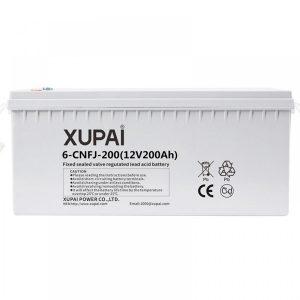 XUPAI 6-CNFJ-200 - 12V 200Ah Jel Akü - Derin Döngü Jel Akü