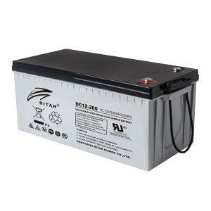 Ritar 200 Ah Kurşun Karbon Jel Akü - DC12-200C