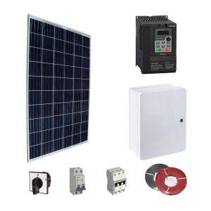 0,75 kW - 1 Hp Sulama Sistemi Güneş Paneli Paketi