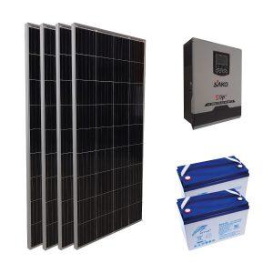 Konteyner Enerji Paketi - 800W Güneş Enerji Sistemi