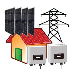 10 kW Çatı Üstü GES Paket Sistem - Öztüketim Modeli