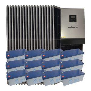 Müstakil Ev Güneş Paneli - 6 kW Ev Kullanımı Paketi