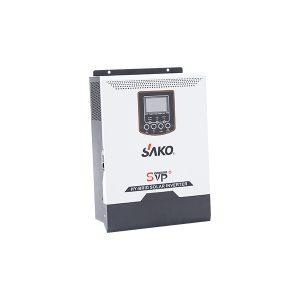 SAKO - 1kW Akıllı İnverter - 50A PWM - 1000W Tam Sinüs - Şebeke Girişli