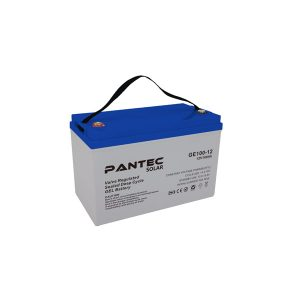 Pantec 100 Ah Jel Akü - GE12-100 Derin Döngü
