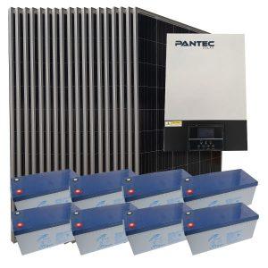 Ev İçin Güneş Paneli - MPPT 5,5 kW